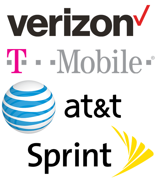 Verizon Sprint AT&T T Mobile cell phone boosters